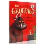 【满300-100】斯马尔蒂斯儿童读物金奖绘本 咕噜牛The Gruffalo 英文原版 儿童英语启蒙图画故事书 Julia Donaldson 平装
