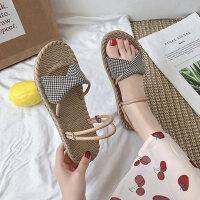 户外潮时尚凉鞋拖鞋两穿女士平底鞋休闲舒适女鞋