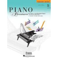【现货】英文原版 菲伯尔钢琴乐谱 3A乐理 Piano Adventures: Level 3A: Theory Boo