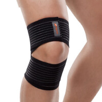 户外运动运动护具 绷带加压护膝 篮球 骑行 防拉伤