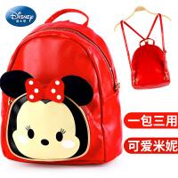 迪士尼幼儿园书包2-3-4-5岁学前班背包女孩宝宝儿童米妮双肩包6