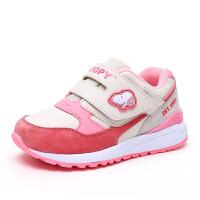 史努比童鞋男童运动鞋秋冬款儿童休闲鞋网面透气女童跑步鞋