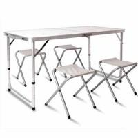 折叠桌椅便携式收纳铝合金桌子地摊摆摊户外旅行便携折叠桌便捷桌椅