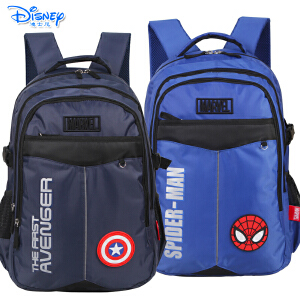 迪士尼中学生休闲书包初中-高中男生儿童休闲书包双肩包BA5145