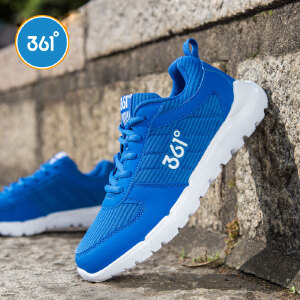 361度童鞋男童鞋中大儿童运动鞋女童鞋耐磨儿童休闲跑鞋K78410671