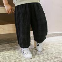 儿童春装男童裤子春秋款潮装休闲裤大童装长裤