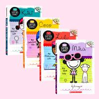 小女生联盟 女生日记 学乐大树系列4册Scholastic Branches: Lotus Lane Kiki Coc