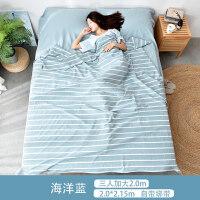 旅行酒店隔脏睡袋单双人室内卫生床单被罩枕套水洗棉出差