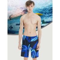 男士泳裤性感骚气五分裤中长款宽松版泳裤沙滩裤男速干可下水泳衣