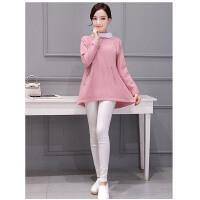 冬季新款韩版时尚女装宽松大码针织打底衫潮流套头长袖百搭女士毛衣