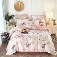 家纺天丝四件套 60s双面天丝床上用品套件