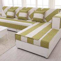夏季加厚亚麻沙发垫组合布艺四季通用沙发坐垫子沙发套巾罩