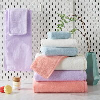 大浴巾毛巾套装超强吸水柔软婴儿成人儿童男女裹胸