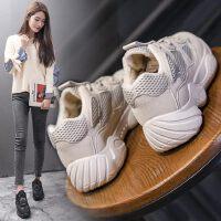 老爹鞋女韩版户外时尚百搭女士休闲小白运动鞋跑步鞋