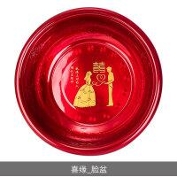 婚庆搪瓷喜庆用品红色结婚脸盆新娘婚庆嫁妆红盆鸳鸯喜盆