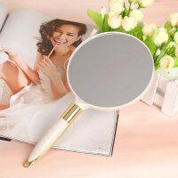 欧式大号手柄化妆镜 韩国随身便携美容院会所镜 高清梳妆镜