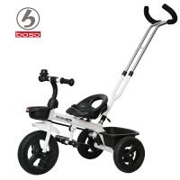 儿童三轮车脚踏车宝宝自行车手推车2-4-6岁大号