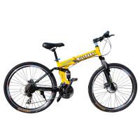 耐嘛悍马26寸折叠山地自行车 24速禧玛诺双碟刹
