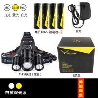 锂电池光头戴式头灯可充电远射打狩超亮猎5000野外3000米夜间