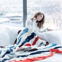 毛毯加厚冬季儿童单双人珊瑚绒空调毯午睡法兰绒沙发毯子被子床单