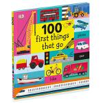 100 First Things That Go 100种交通工具 英文原版儿童绘本