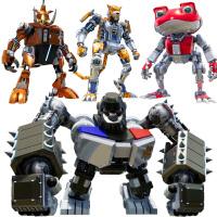 快乐酷宝焰蛙宝青冥狼王果宝铠之魂特攻变形机器人儿童玩具