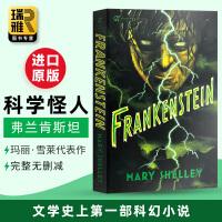 科学怪人 弗兰肯斯坦 英文原版小说 Frankenstein 玛丽雪莱Mary Shelley 全英文版进口英语书籍 S