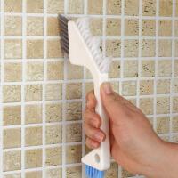 日本多用卫浴室瓷砖刷缝隙刷地板刷除污垢厨房清洁刷子