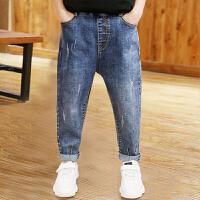 男童裤子长裤秋冬儿童牛仔裤中大童外穿