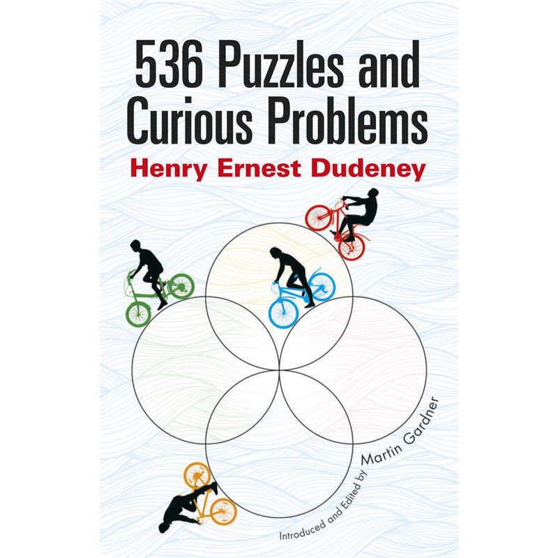 536 Puzzles and Curious Problems (【按需印刷】) 按需印刷商品,15天发货,非质量问题不接受退换货。