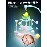 新生儿婴儿玩具床铃0-1岁宝宝音乐旋转床头铃床挂摇铃3-6-12个月