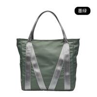 女学生手提包校园ins布袋包韩版简约大容量单肩包女大包包托特包
