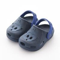 拖鞋男1-3岁防滑软底婴幼儿小孩凉拖鞋洞洞鞋儿童拖鞋夏女童宝宝
