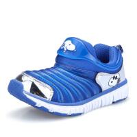 史努比毛毛虫童鞋男童网鞋女童休闲鞋新款儿童运动鞋