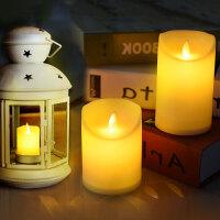 蜡烛浪漫生日布置引路电子蜡烛灯塑料摇摆烛台求婚婚庆表白家用