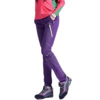 时尚户外冲锋裤薄款裤子锦纶拼色情侣速干裤防泼水男女裤Xp1w