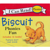 Biscuit Phonics Fun小饼干-自然发音法(I Can Read,My First Level)ISBN9