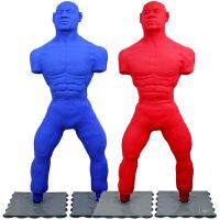 人形硅胶不倒翁实心沙袋 拳击沙包散打武术吸盘健身立式家用