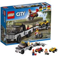 【当当自营】LEGO乐高全地形车赛车队 60148