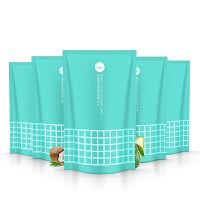 喜朗 谷斑姿色衣物精华皂露1.01斤*5袋宝宝洗衣液家庭装洁净护手配方