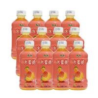 6月产 免运费 康师傅 水蜜桃果汁 330ml*12瓶 水果味饮料 饮品迷你小瓶装