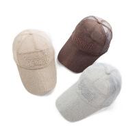 夏天网帽女士透气鸭舌帽网棒球帽男士韩版太阳帽遮阳防晒钓鱼加长