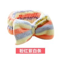 {夏季贱卖}洗漱发带发套敷面膜束发带洗脸用的发箍可爱萌韩国甜美女头饰
