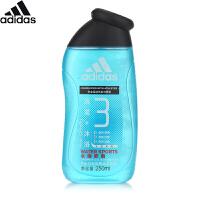 阿迪达斯 Adidas男士功能型沐浴露-水韵舒润250ml 洗发沐浴二合一