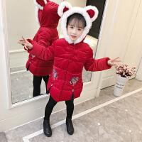 女童唐装棉衣儿童拜年服新年装中国风羽绒服