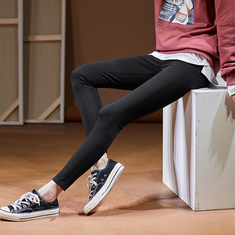 【直降价99元】唐狮秋冬新款加厚加绒女打底裤小脚裤显瘦铅笔裤外穿韩版 直降包邮