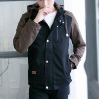 男士夹克新品外套男秋冬茄克韩版修身纯棉连帽青年薄款休闲潮