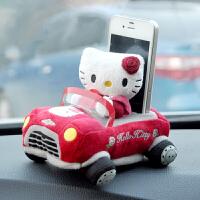 汽车手机座 手机支架 3D可爱卡通车用手机袋
