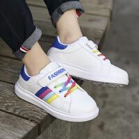 秋季男童鞋小白鞋女童时尚休闲运动儿童板鞋