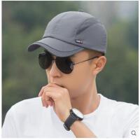 韩版潮男士棒球帽男速干透气户外防晒太阳帽遮阳帽运动帽帽子 可礼品卡支付